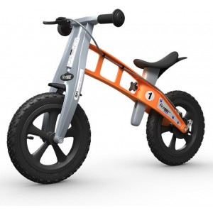 "Беговел FirstBIKE ""Cross"" с тормозом"